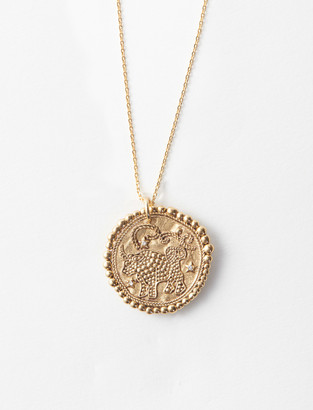 Maje Taurus zodiac sign necklace