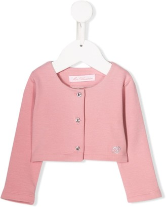 Miss Blumarine cropped cardigan