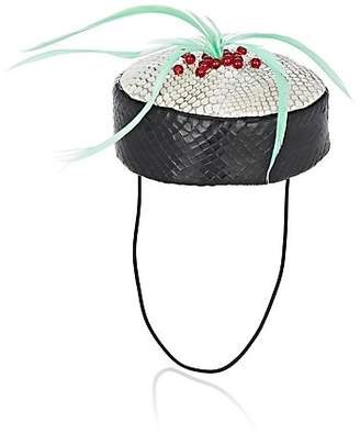 Eugenia Kim Women's Maki Fascinator - Black