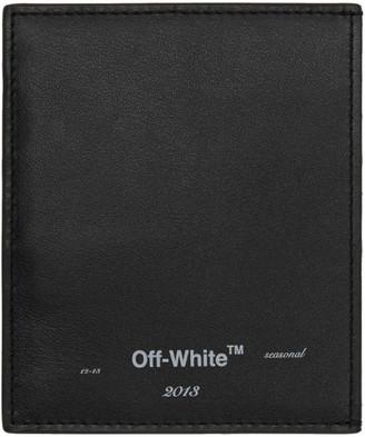 Off-White Off White Black Logo Card Holder