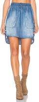 Bella Dahl Distressed Mini Skirt