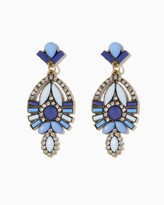 Charming charlie Opaque Stone Statement Earrings