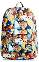 Loungefly Girl's Disney Beauty & The Beast Backpack - Yellow