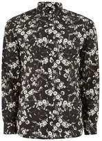 Selected HOMME'S Black Floral Shirt