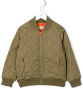 Stella McCartney tiger patch bomber jacket