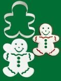 Wilton Cookie Cutter & Stencil Set - Gingerbread Boy