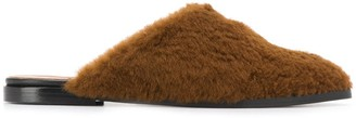 ATP ATELIER Shearling Slippers