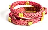 Brio Tissuville Bracelet Raspberry Gold