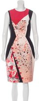 Prabal Gurung Abstract Print Sheath Dress w/ Tags