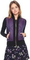 Juicy Couture Iridescent Puffer Vest