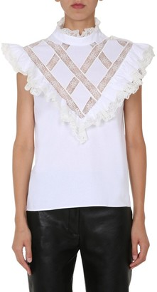 Philosophy di Lorenzo Serafini Ruffles Detailed Blouse