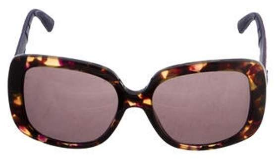 Christian Dior Lady Lady 1 Oversize Sunglasses Brown Lady Lady 1 Oversize Sunglasses