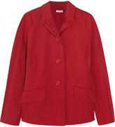 Miu Miu Stretch-crepe jacket