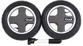 Joovy Qool Pneumatic Rear Wheels & Tire Pump - Chili