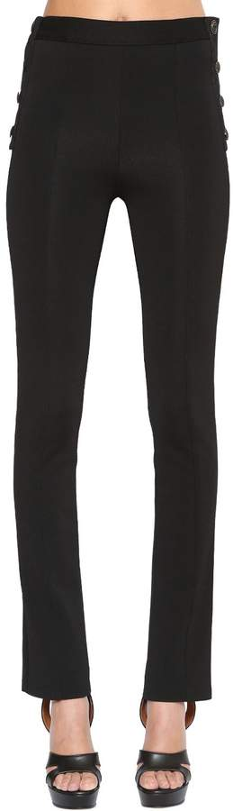 Givenchy Stretch Milano Jersey Pants
