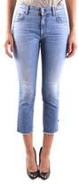 Reign Women's Blue Cotton Jeans.