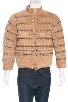 Hood by Air Suede Laced Jacket w/ Tags