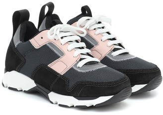 Marni Suede and mesh sneakers
