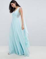 Forever Unique Grecian Draped Dress