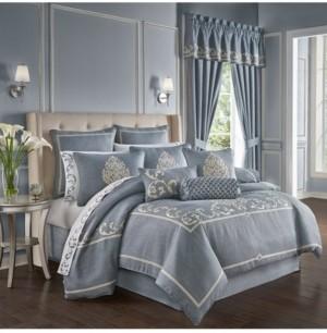 J Queen New York Aurora King 4Pc. Comforter Set Bedding