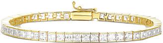 Sphera Milano 18K Over Silver Cz Bracelet