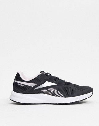 Reebok Endless road 2.0 sneakers in black and white