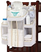 hiccapop Nursery Organizer and Diaper Caddy for Baby Essentials
