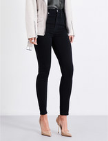 Good American Good Waist skinny ultra high-rise jeans