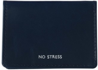 Vida Vida No Stress Navy Leather Travel Card Holder