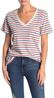 Sub Urban Riot Vincent Stripe Pocket T-Shirt