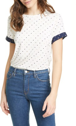 Ted Baker Joannah Contrast Cuff Short Sleeve Top