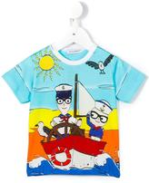 Dolce & Gabbana 'Junior Sailors' T-shirt - kids - Cotton - 9-12 mth