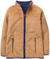 Crazy 8 Fuzzy Zip Jacket