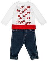 Guess Heartstrings Combo Shirt and Pants Set