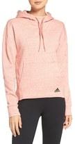 adidas Women's Cotton Blend Fleece Hoodie