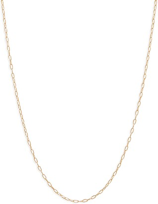 Bony Levy 14K Gold Open Link Chain Necklace
