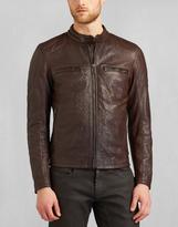 Belstaff Archer Biker Jacket Mahogany
