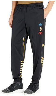adidas Metallic Track Pants (Black/Platinum Metallic) Men's Casual Pants