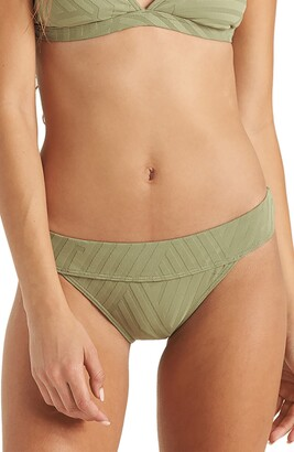 Billabong Peeky Days Topic Bikini Bottoms