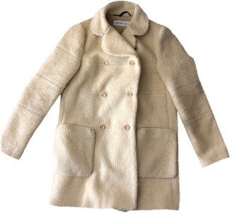 See by Chloe Ecru Coat for Women