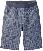 Tea Collection Chambray Trucker Short (Baby & Toddler)