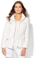 New York & Co. Mock-Neck Anorak Jacket