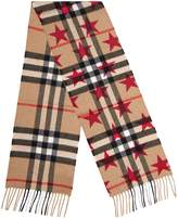 Burberry Kids Cashmere Scarf, Pink, One Size