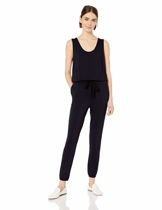 Daily Ritual Women's Supersoft Terry Relaxed-Fit Sleeveless Jumpsuit