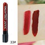 Remeehi 38 Colors Waterproof Long Lasting Velvet Matte Lip Gloss Cosmetic Lipstick 33#