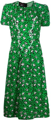 Marc Jacobs Sofia Loves the 40's printed dress