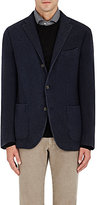 Boglioli MEN'S K CASHMERE THREE-BUTTON SPORTCOAT-NAVY SIZE 42 R