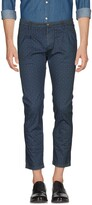 Grey Daniele Alessandrini Casual pants - Item 36951673