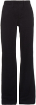 Nlst Wide-leg wool and cashmere-blend trousers
