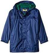 Western Chief Solid Nylon Rain Coat (Toddler/Little Kids/Big Kids) (Navy) Kid's Coat